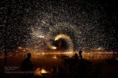 Untitled - Pinned by Mak Khalaf Fire show fire beach night thailand travel Performing Arts thailandSteel Woolbeachfirefire showlightnightperformanceshowtravel by antnw