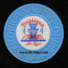 Las Vegas Casino Chip of the Day is a $1 Tropicana 2nd issue you can see here http://www.all-chips.com/ChipDetail.php?ChipID=17798  This is a very popular Early Fountain issue