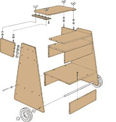 Portable Planer Stand Woodworking Projects Amp Plans
