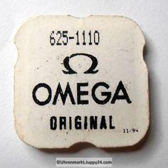 Omega Stellhebelfeder Part Nr. Omega 625-1110 Cal. 625 635 - Omega