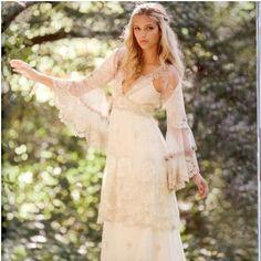 Claire Pettibone 'Lyon' wedding gown