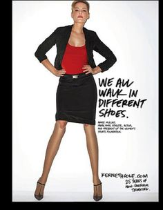 We all walk in different shoes - advertising campaign / Kenneth Cole