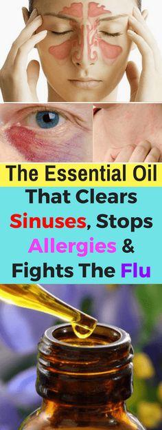The Essential Oil That Clears Sinuses, Stops Allergies & Fights The Flu - seeking habit
