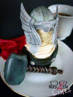 Thor Cupcake on Global Geek News.