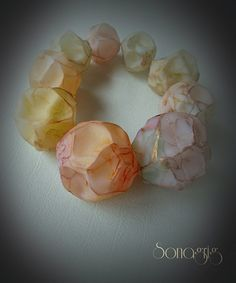 new hollow beads, made using a new and a little funny tecnique...;) | by sonagrig