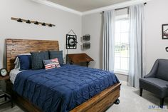 John F Kennedy C Floor Plan - Bedroom - Centerra Ridge - Evansville, IN