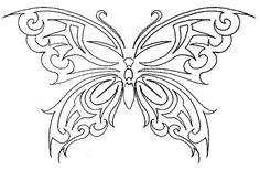 Butterfly Tattoo by ~justdbear on deviantART