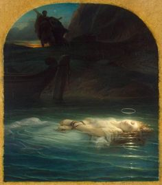 La Jeune Martyre by Paul Delaroche, 1855. My favorite painting at the Louvre!!!