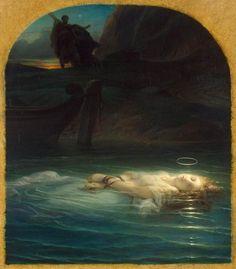 Paul Delaroche, Young Christian Martyr, 1853