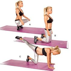 Grand plie with kick - Total Body Workout by Tracy Anderson - Health.com