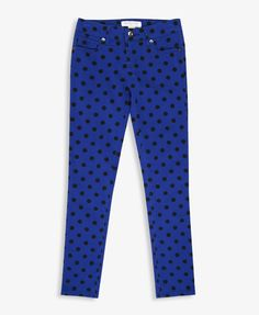 Polka Dot Skinny Jeans #forever21girls