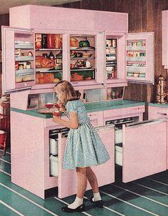 Refrigerador GE - 1957