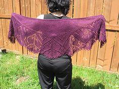 Free Shawl pattern - DK weight - knitting