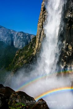Misty Magic by Jeff Lewis,,now here is a DOUBKE rainbow, oh grandma Cindy loves rainbows.