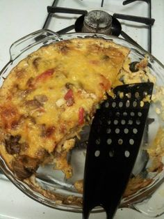 Surpremem Pizza Crust less Quiche
