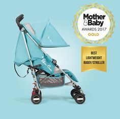 Zest wins Gold! Our lightweight stroller has won Gold for best lightweight pushchair at the Mother & Baby Awards