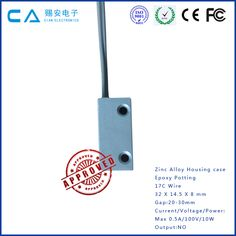Normally open 5v 12v 24v 36v metal door magnetic proximity reed sensor switch contact