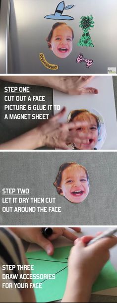 DIY Face Magnets | DIY Mothers Day Crafts for Kids to Make