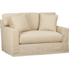 Axis Slipcovered Twin Sleeper Sofa    $1,199.00
