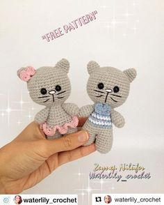 "😺minnoş kediler 😺 ' 'Kafa' OşTiny cats 😺 & # & # head & # ""The eyes are between Crochet Doll Pattern, Crochet Patterns Amigurumi, Amigurumi Doll, Crochet Snowman, Crochet Bunny, Super Cute Animals, Plush Animals, Stuffed Toys Patterns, Baby Knitting"