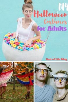 DIY Halloween costumes for adults allow you to save money and have some real fun in the process!