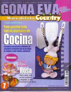 Revistas de manualidades Gratis: cocina country