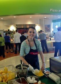 Future Dietitian, Rachel Barlow, Brings Nutrition to Children's Hospital Food Service