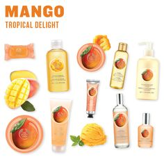 A Bath and Body range that will remind you of warm sunny days eating Mangoes. Body Shop At Home, The Body Shop, Body Shop Body Butter, Body Shop Skincare, Beauty Box, Body Works, Body Lotion, Body Care, Bath And Body