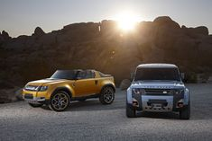 The next-generation Land Rover Defender will be offered in all-electric guise.