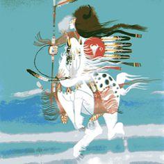 Lone Comanche Rance Hood kK