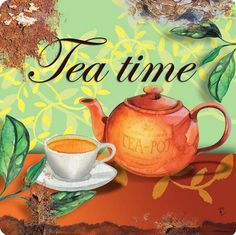What else to say! Tea time!