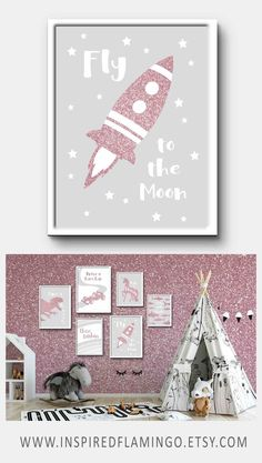 Playroom Prints to liven up your space. See our full collection of prints in our Etsy shop . Baby Nursery Neutral, Baby Girl Nursery Decor, Nursery Wall Decor, Nursery Prints, Childrens Bedroom Decor, Playroom Decor, Kids Decor, Decor Ideas, Kids Bedroom