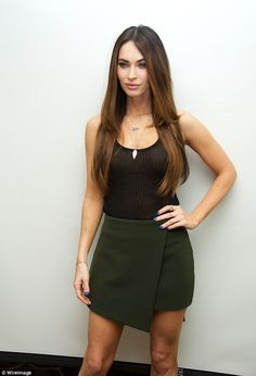 Press event: Megan Fox attends a Teenage Mutant Ninja Turtles press conference at the Four Seasons Hotel on Friday in Beverly Hills, California
