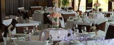 Esküvői dekoráció, barna esküvői dekoráció