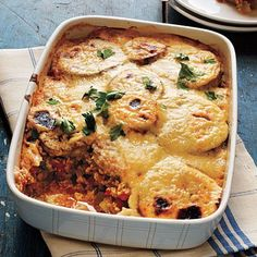 Vegetarian Moussaka by Cooking Light