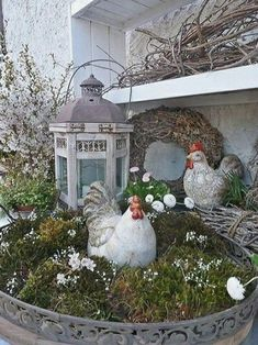 I wish you all a happy Easter, At this moment, more time too p … – Best decoration ideas Happy Easter, Easter Bunny, Easter Eggs, Decoration Vitrine, Diy Decoration, Deco Floral, Easter Table, French Country Decorating, Easter Crafts