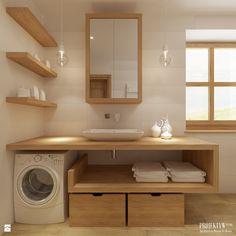 Łazienka styl Skandynawski - zdjęcie od PROJEKTYW   Architektura Wnętrz &…