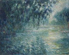 Claude Monet . Morning on the Seine, 1898