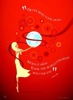 June quote #HelenKeller #quotes #pink #inspiration