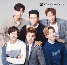 2PM for Tony Moly