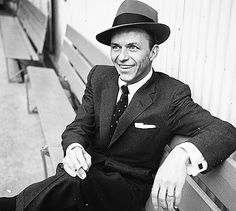 Frank Sinatra photographed by Maurice Terrell.