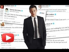 GLEE Stars React To Co Star Cory Monteith's Death At 31 - YouTube