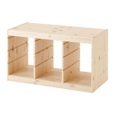 TROFAST Regalrahmen IKEA 59,9€  Breite: 94 cm  Tiefe: 44 cm  Höhe: 52 cm