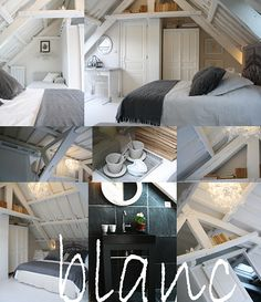 houses and Bed & breakfast in rib d armor, brittany / the house of Lamour Ambiance Hotel, Location Gite, Attic Bedroom Small, Attic Design, Cozy Corner, Bed And Breakfast, Interior Architecture, Interior Decorating, Sweet Home