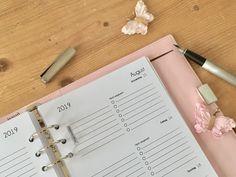 Kalendereinlagen | Der Countdown läuft Countdown, Organizer, Planer, Blog, Organization, Notebook, Tips And Tricks, Getting Organized, Organisation
