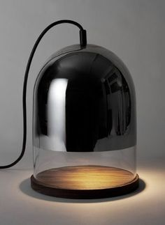 Bell lamp by Sybille Stoeckli / The Design Walker