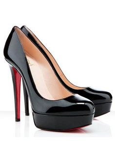 Christian Louboutin Classic Bianca Patent. Every girl needs a good pair of black heels and this was my investment. Great for work.