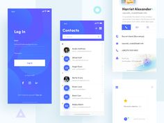 Contacts📮 designed by Dragon Lee for Orizon: UI/UX Design Agency. Connect with them on Dribbble; Design Agency, Ux Design, Mobile App Ui, Create A Logo, Show And Tell, Dragon, Ui Ux, Apps, Blue
