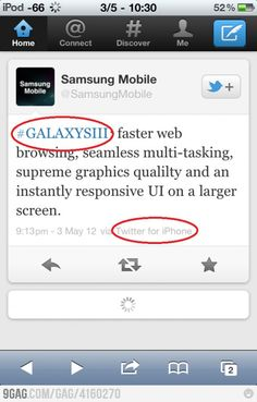 Samsung.. you're doing it wrong