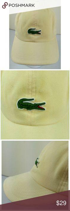 804fa4c8 ... free shipping lacoste vintage truckers cap hat croc adjustable lacoste  vintage mens croc trucker hat sport ...